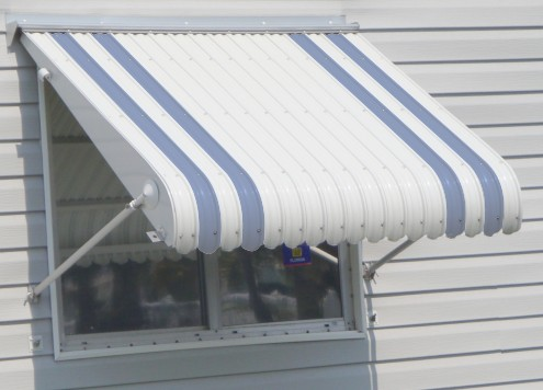 Aluminum Awning Color Swatch Enlarged Photo