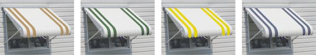 awning products photo collage