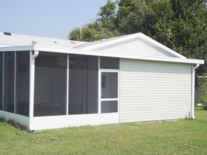 screen room storage shed combo