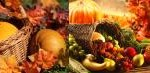 thanksgiving cornucopia collage