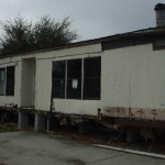 florida mobile home restoration before