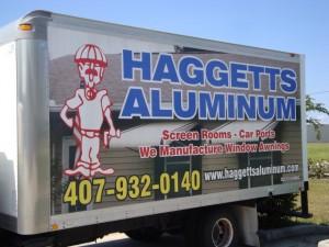 aluminum awning truck