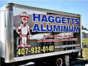 haggetts aluminum truck