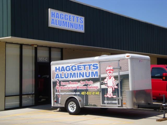haggetts aluminum storefront