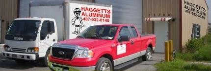 haggetts aluminum store front