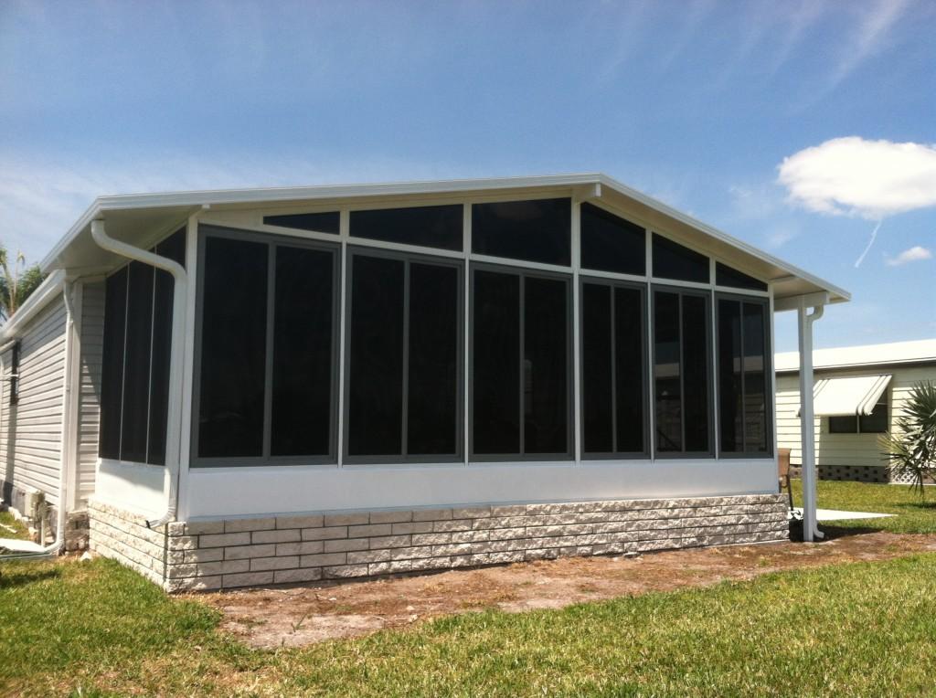 North Port Florida Acrylic Windows Project