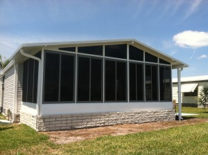 North Port Florida Acrylic Windows Project