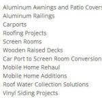 aluminum options