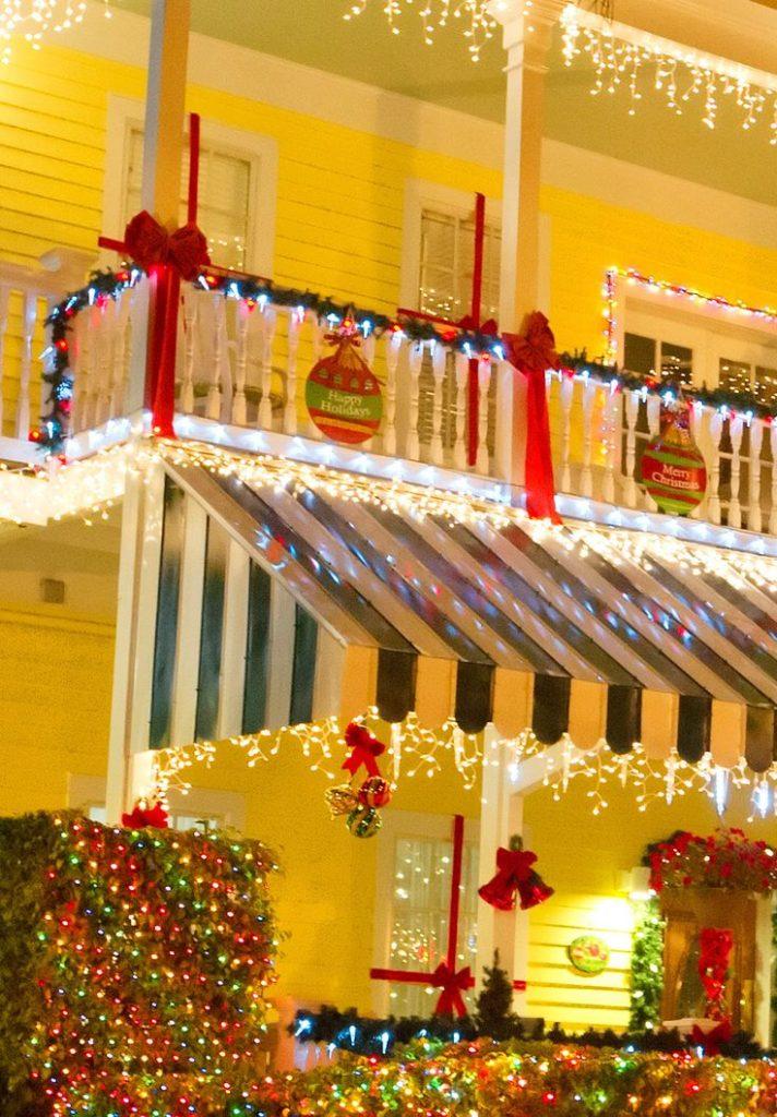 christmas awning decoration
