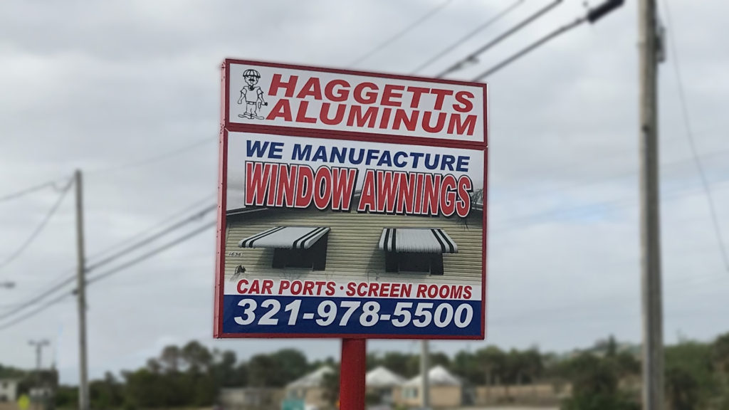 haggetts company highway sign