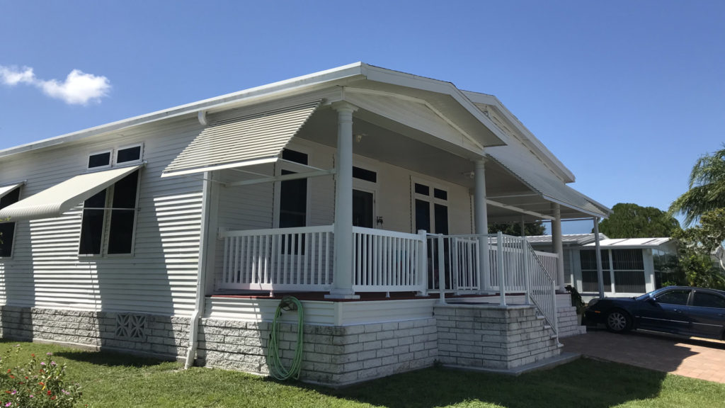 melbourne florida awning project done
