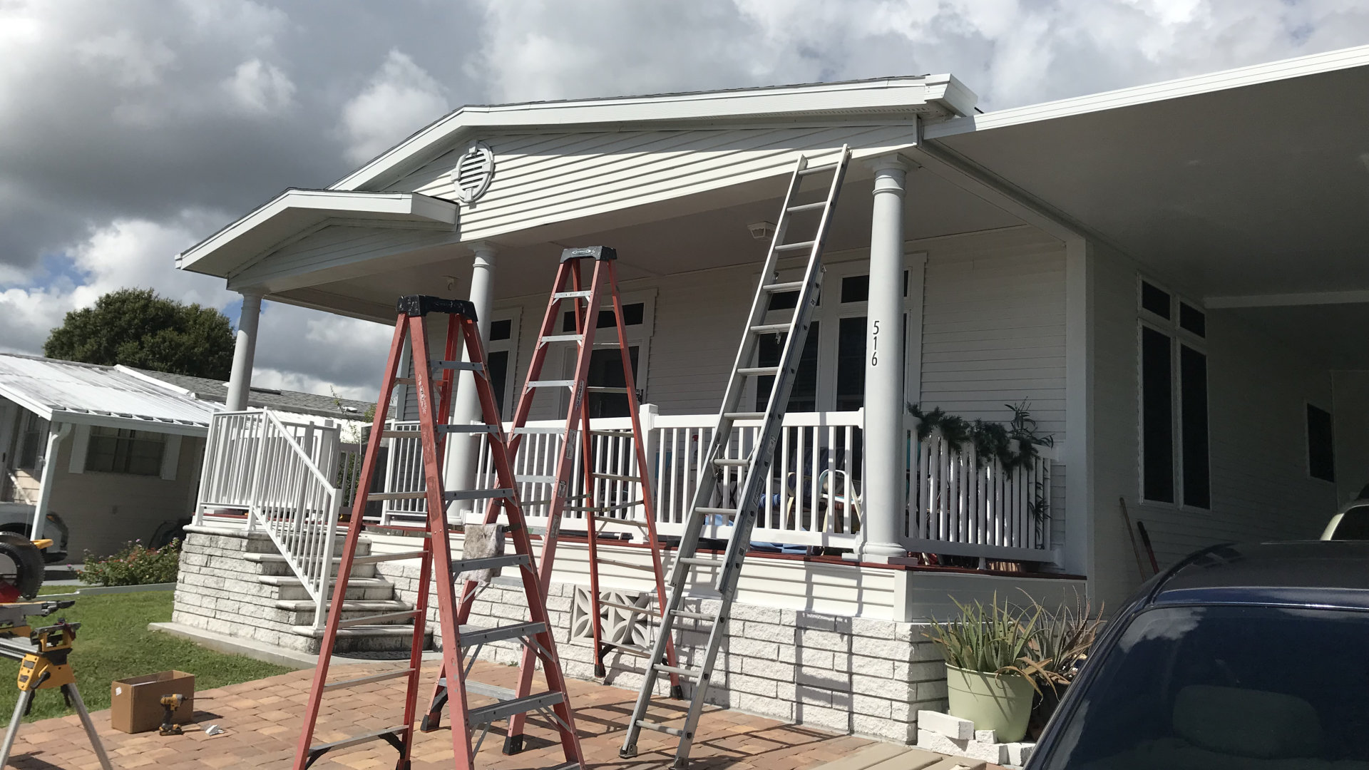 melbourne florida awning project setup