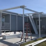 Carport and Roof Being Framed