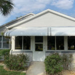 front porch awning shade solution