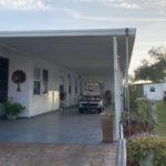 Carport Roof Panel Job Completed