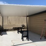 double wide carport project stage 1