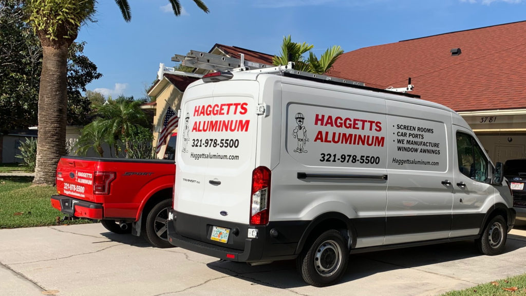haggetts aluminum service vehicles
