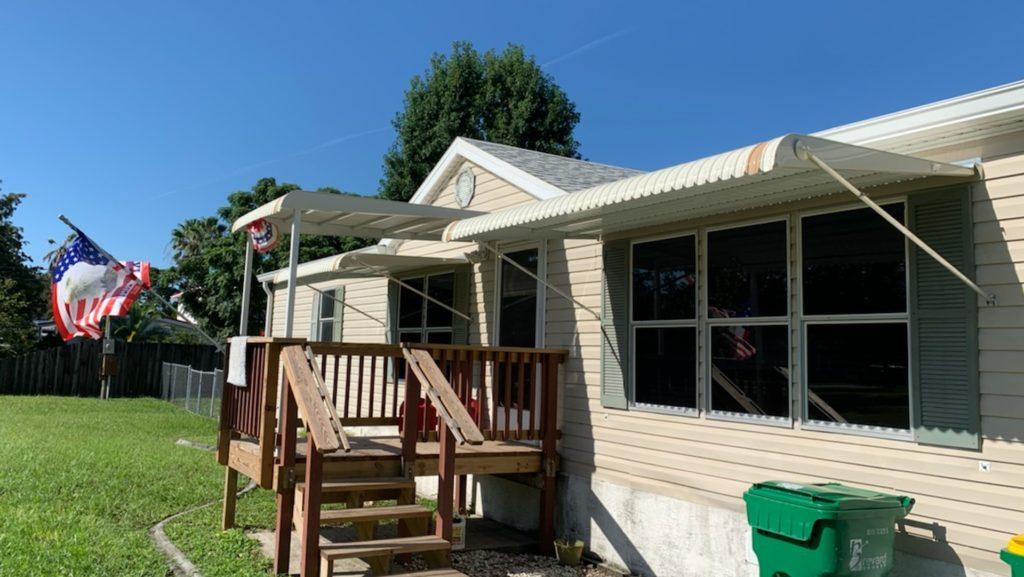 custom window and patio roof awnings