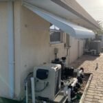 Pool Equipment Awning Project