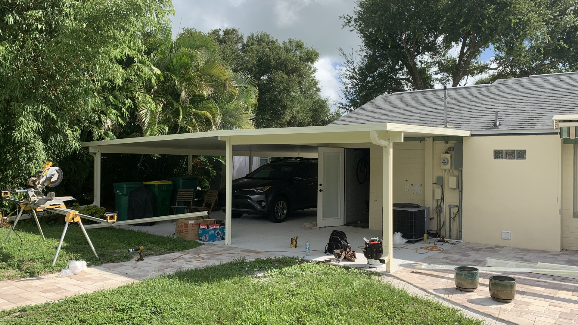 large custom carport cocoa fl 3