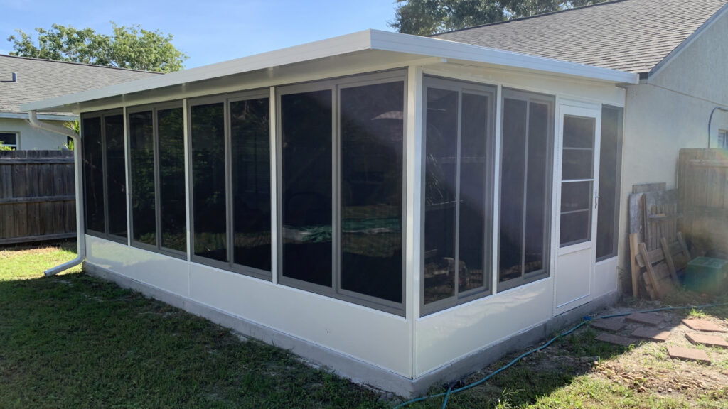 acrylic patio window upgrade