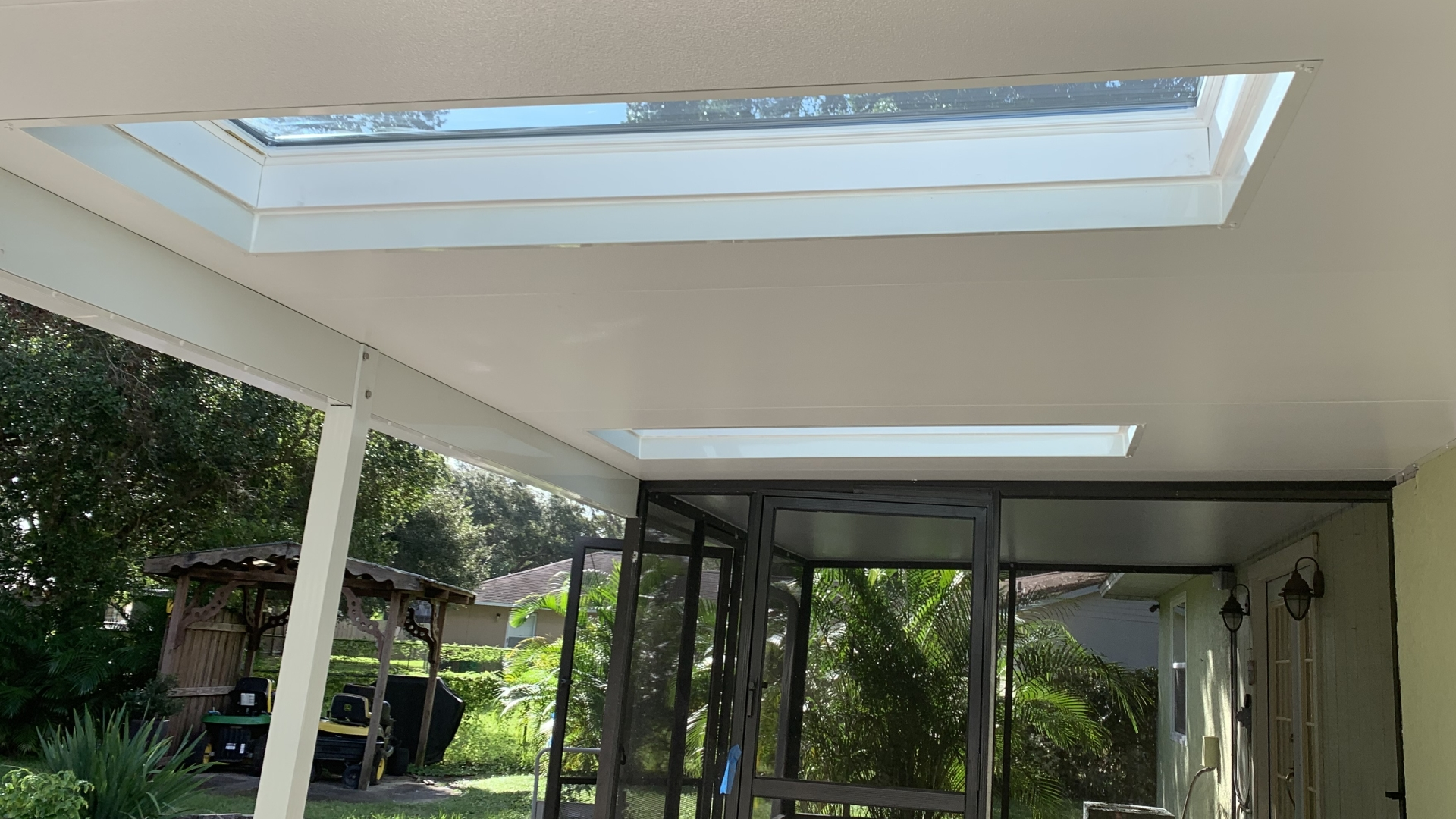 insulated patio cover skylights 2