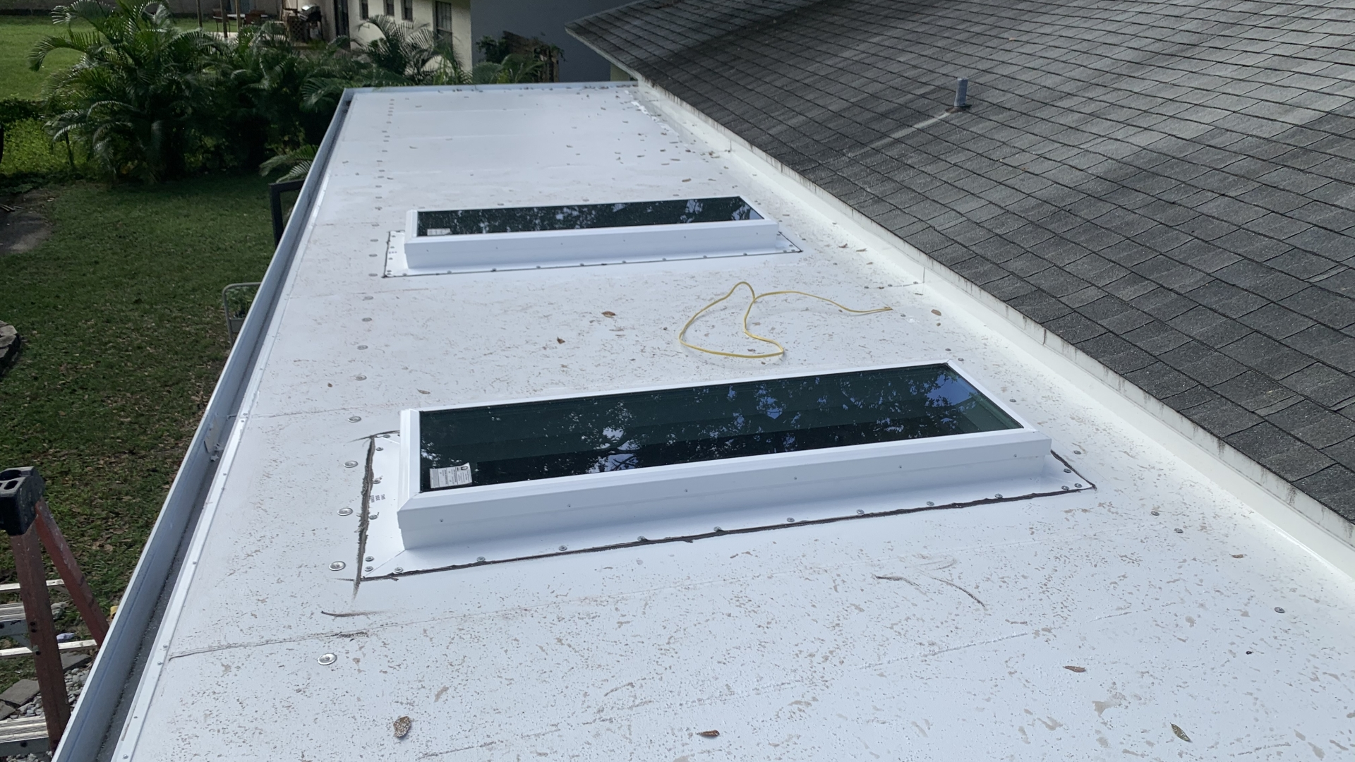 insulated patio cover skylights 3