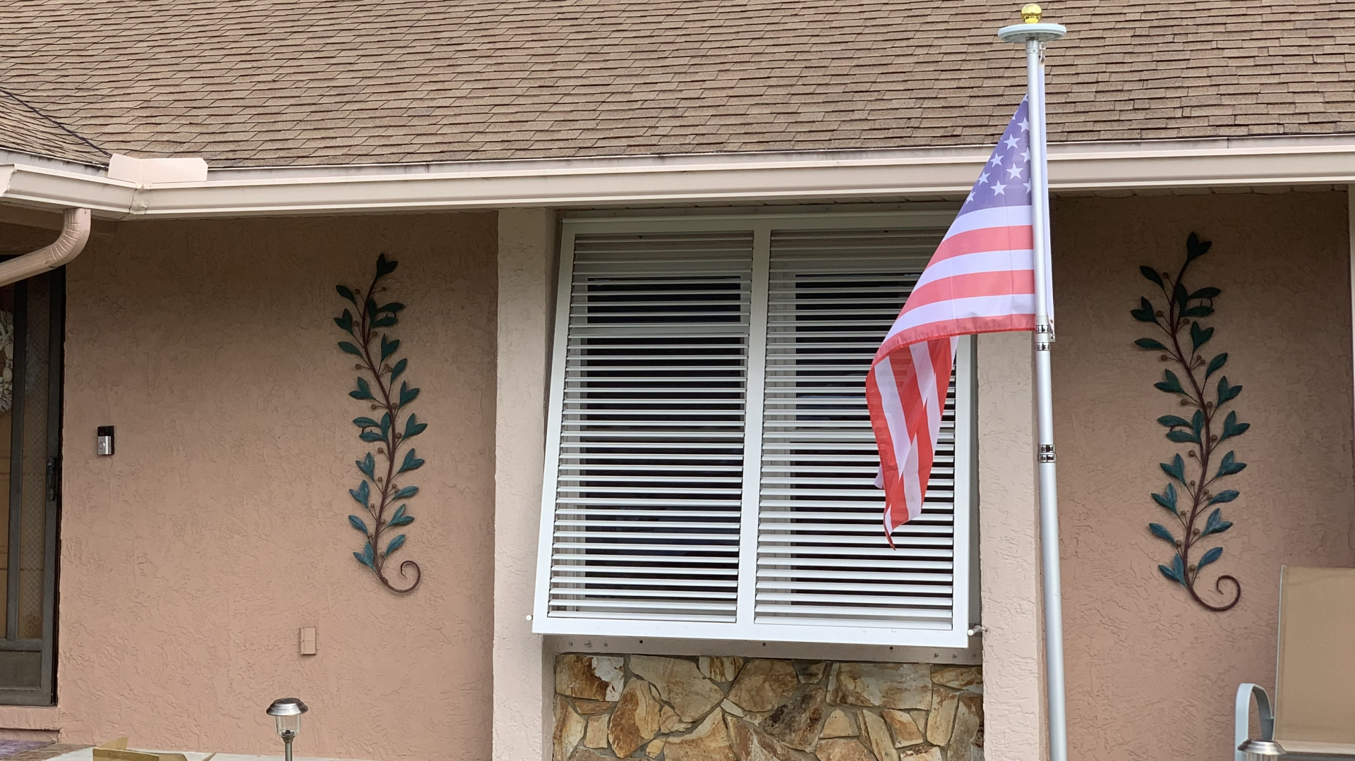 custom bahama awnings front