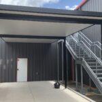 Employee Lounge Custom Roof Complete